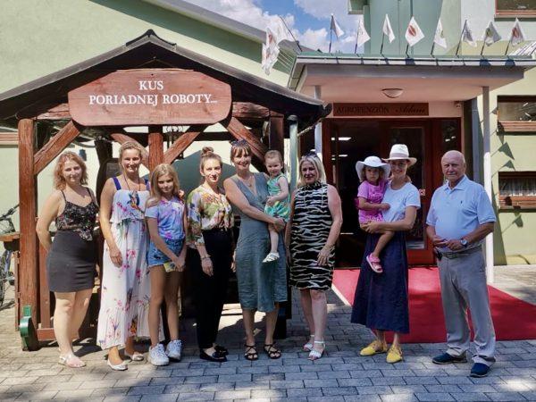 Slovenský kick-off projektu - Letné stretnutie v Podkylave